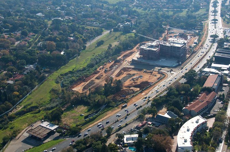 Sandton Gate Construction May 2019